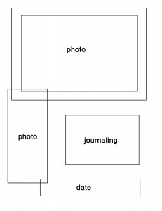 Layout for Scrapbooking