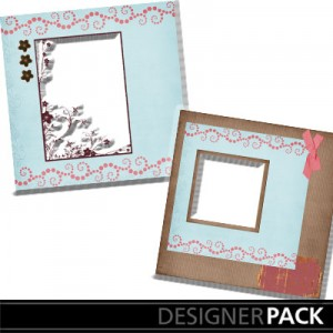 Easy Scrapbook Page 1