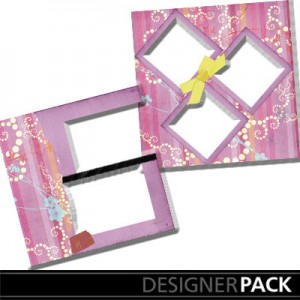 Easy Scrapbook Page 3