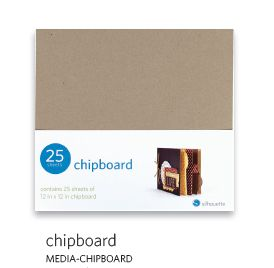 Silhouette Chipboard