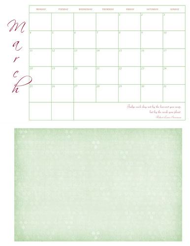 Calendar-with-FrameWeb