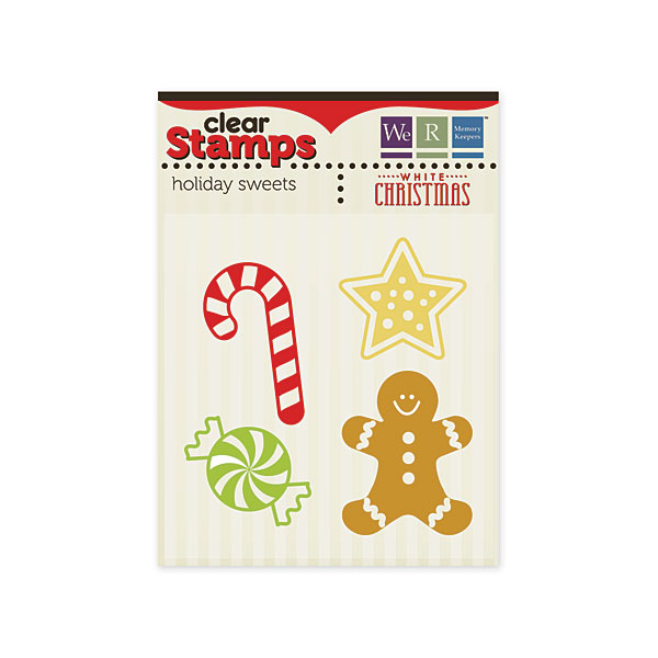 Holiday Sweets Clear Stamps