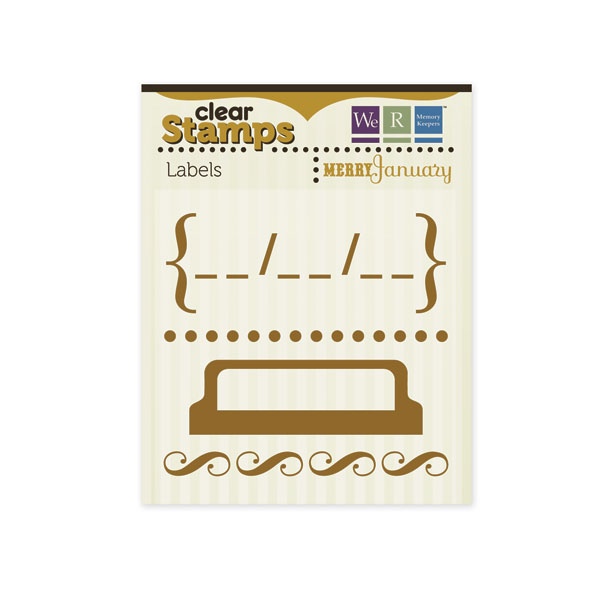Clear Stamps Labels