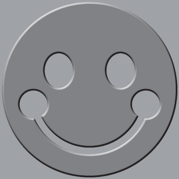 Smiley Face Embossing Plate