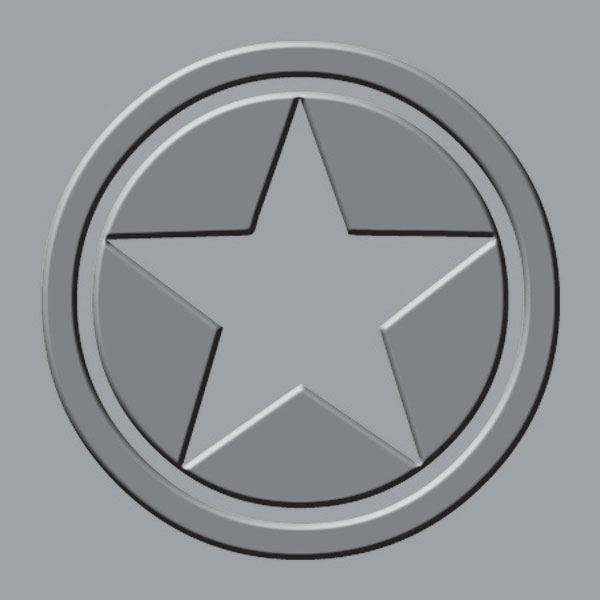 Star Embossing Plate