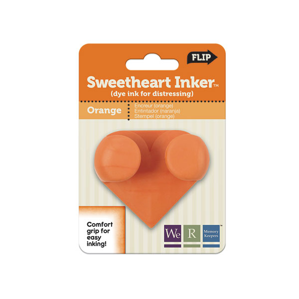 W R Memory Keepers Sweetheart Inkers - Orange