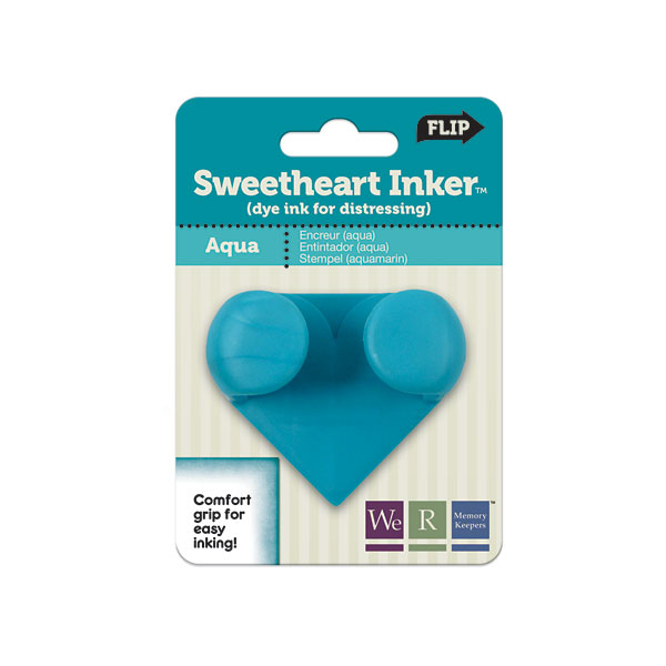 W R Memory Keepers Sweetheart Inkers - Aqua