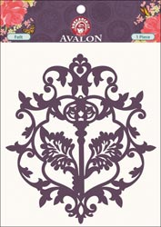 Avalon Die-Cut Felt Embellishment