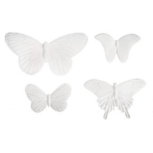 Melissa Frances Beautiful Butterflies Resin Embellishment