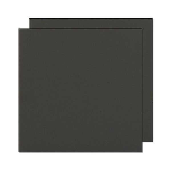 "The Cinch Book Board 12x12"" Chipboard Black"