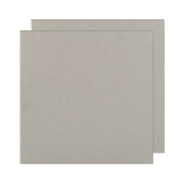 "The Cinch Book Board 12x12"" Chipboard Gray"