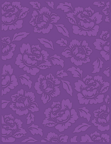 Cabbage Rose (UNI) Size eBosser Embossing Folder