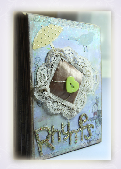 Rhymes Handmade Art Book SOLD