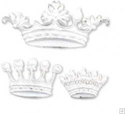 Melissa Frances Her Majesty Resin Embellishment
