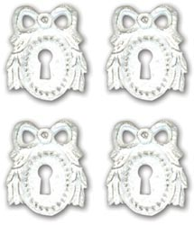 Melissa Frances Dorchester Resin Embellishments 4/Pkg