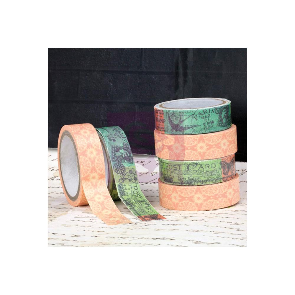Prima Divine Washi (5.5 Yards) & Fabric (1 Yard) Tape