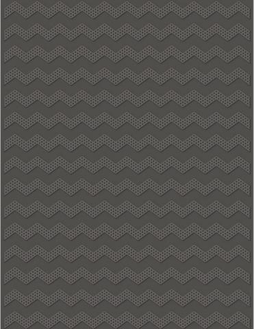 Dotted Chevron (UNI) Size eBosser Embossing Folder