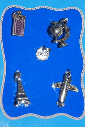 Metal Charms Travel