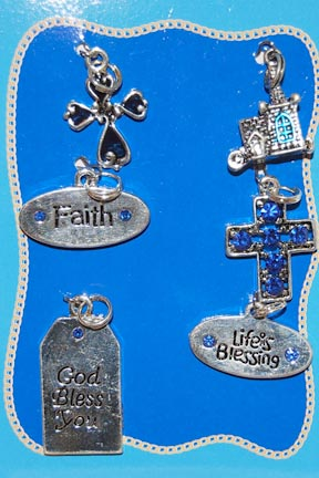 Metal Charms Faith