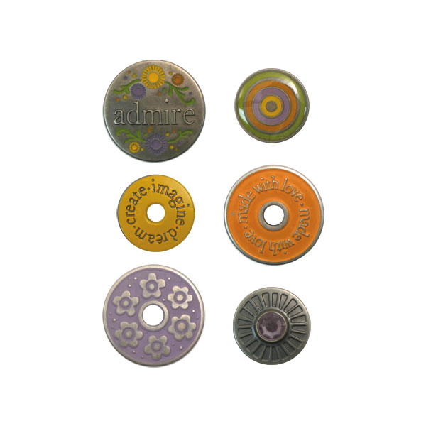 Designer Eyelets & Snaps Pewter Press