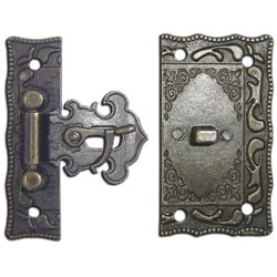 Metal LATCH Set: Fancy Catch