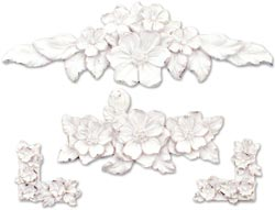 Melissa Frances Garden Party Resin Embellishment: Floral