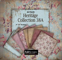 "Heritage Mini Paper Collection 8""X8"" Booklet"