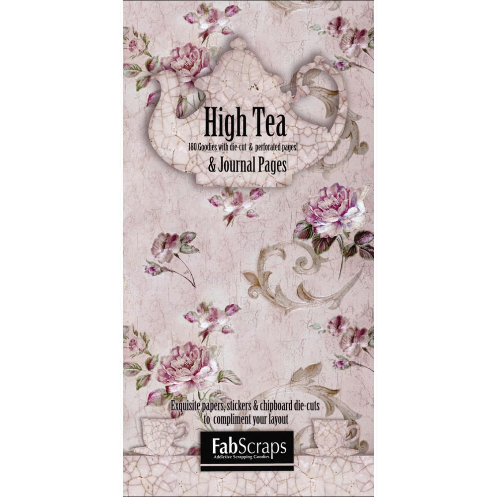 "High Tea Journal Die-Cuts Book 8""X4"""