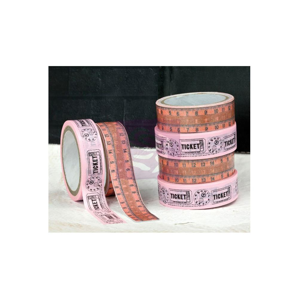 Prima Lyric Washi (5.5 Yards) & Fabric (1 Yard) Tape