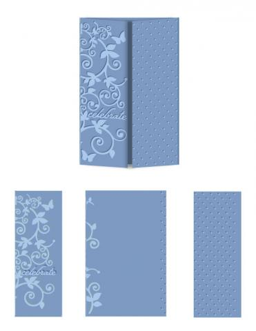 Magic Celebration - Letter Size eBosser Embossing Folder