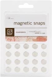Magnetic Snaps 10/Pkg Small 3.8""