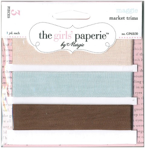 Market Trims 3 Colors/1 Yard Each: Maggie