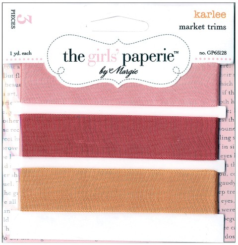 Market Trims 3 Colors/1 Yard Each: Karlee