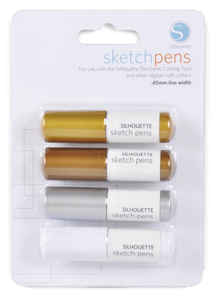 Silhouette Sketch Pen – Metallics
