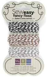 Sew Easy Fancy Floss Bakers Twine Neutrals