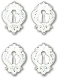 Melissa Frances Nottinghill Resin Embellishments 4/Pkg
