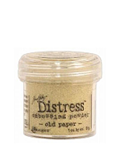 Tim Holtz Distress Embossing Powder Old Paper