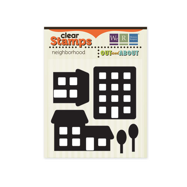 Out & About Clear Stamps Neighborhood