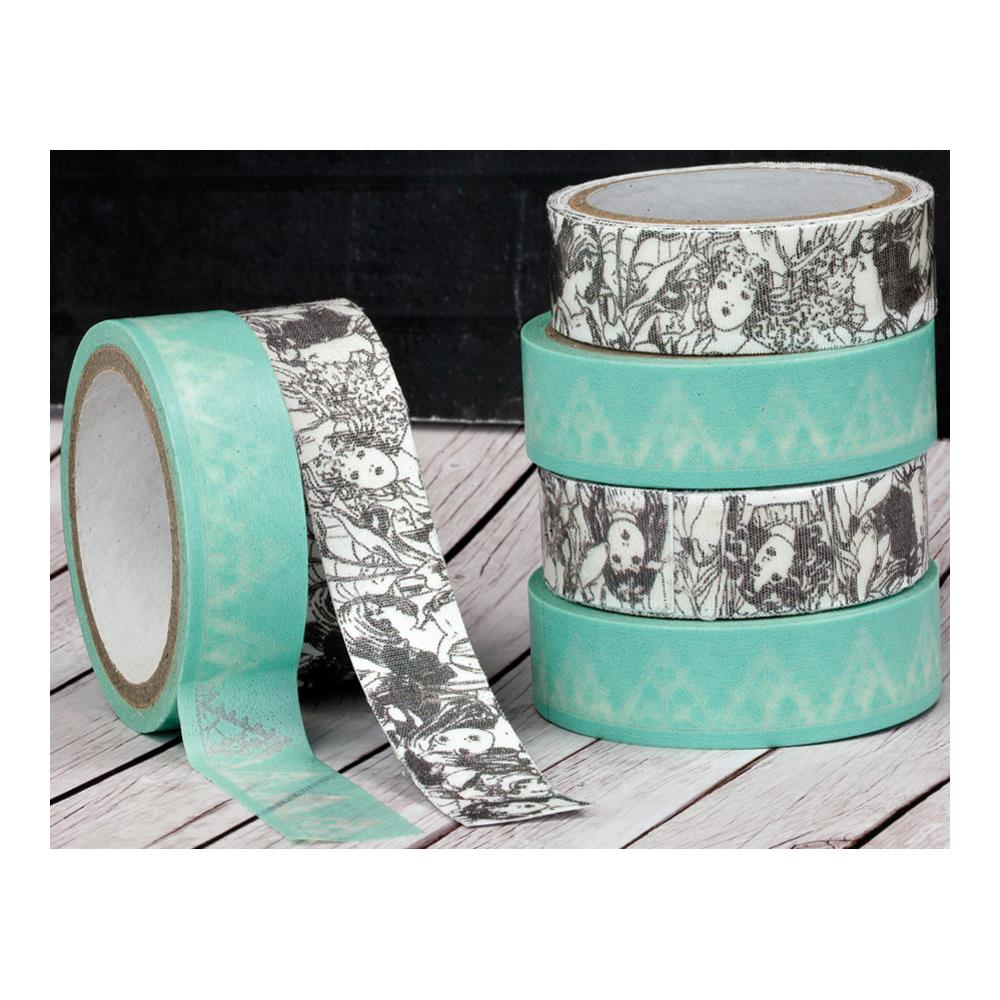 Prima Fairy Rhymes Washi (5.5 Yards) & Fabric (1 Yard) Tape