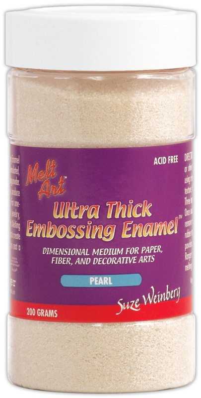 Melt Art Ultra Thick Embossing Enamel 8 Oz. Pearl