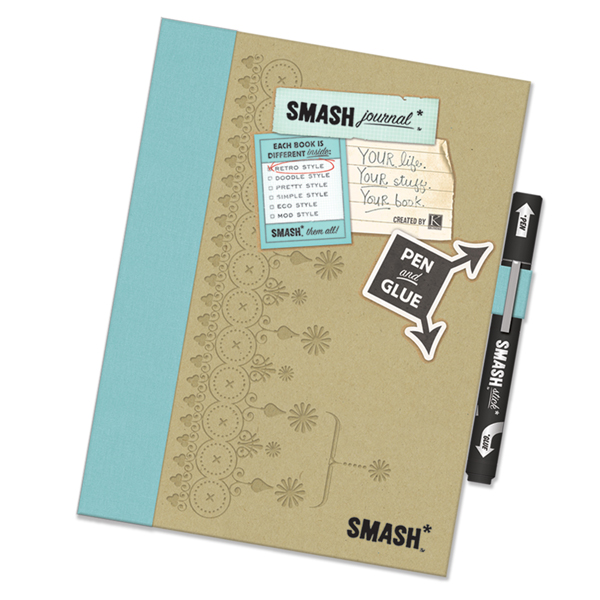 Retro Blue SMASH Folio