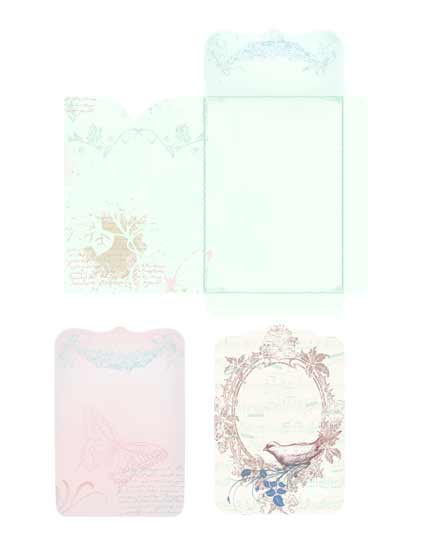 Romance Envelope P&C