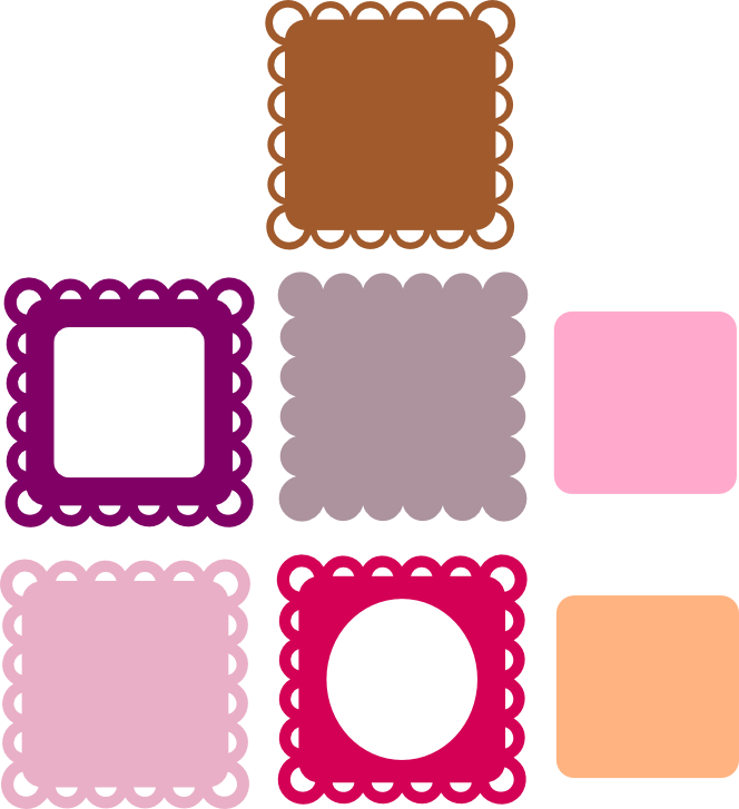 Scallop Frame Png Scalloped Frames