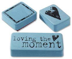 Loving the Moment Rubber Stamp Set