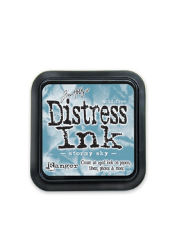 Tim Holtz Distress Ink Pad Stormy Sky