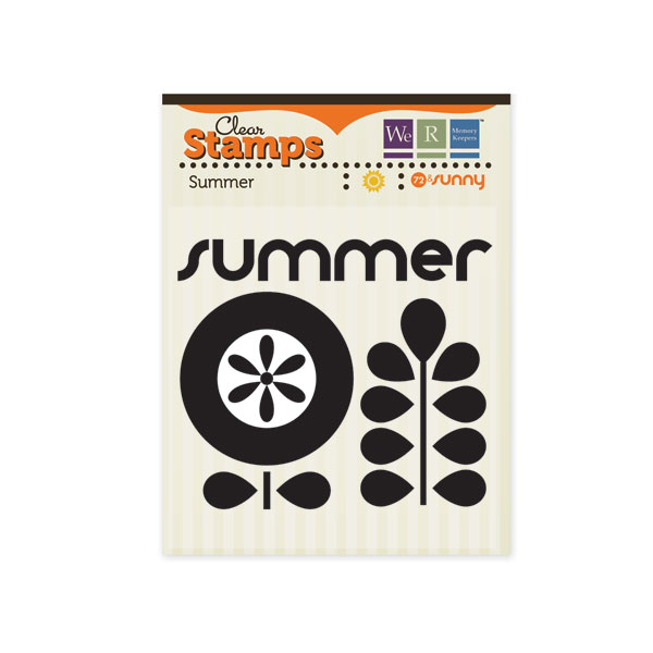 72 & Sunny Clear Stamps Summer