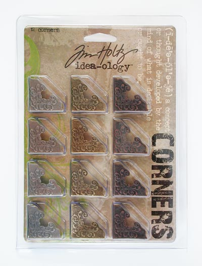 "Tim Holtz Idea-Ology 1"" Corners"