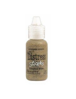Tim Holtz Distress Stickles Tarnished Brass
