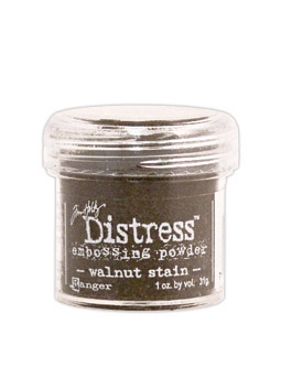 Tim Holtz Distress Embossing Powder Walnut Stain
