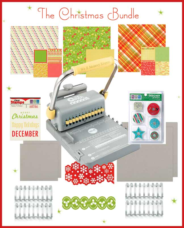 The NEW Cinch Version 2 Bookmaking Starter Kit: Christmas